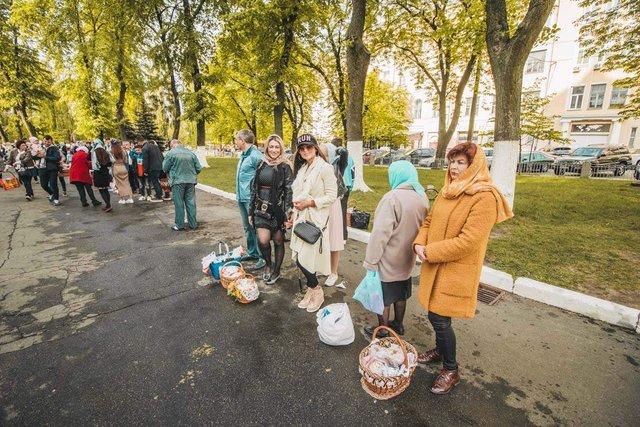 Як виглядав Київ у великодній ранок: чарівні фото - фото 324545