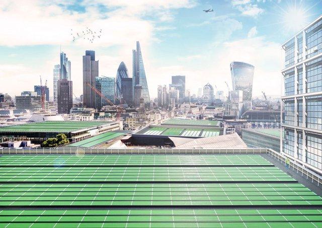 На дахах будуть встановлені панелі з планктоном - фото 325020