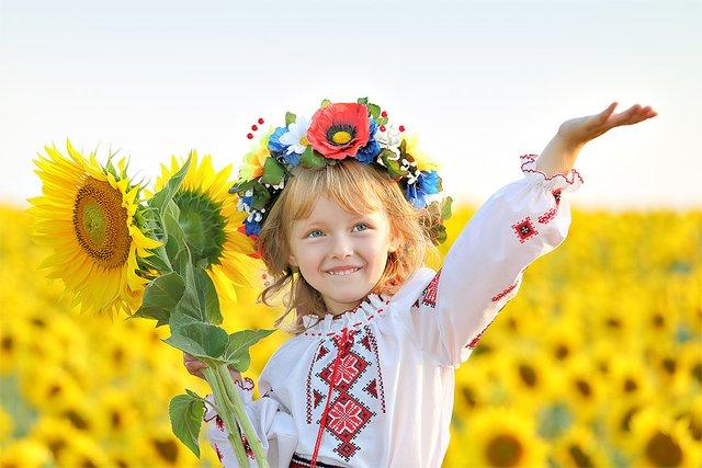 Маленька українка - фото 325212