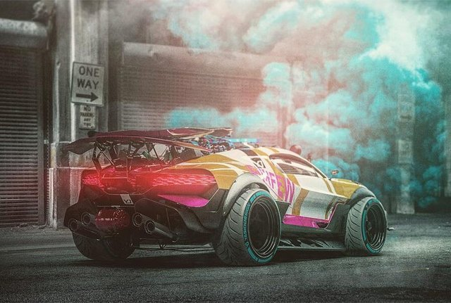 Bugatti Divo перетворили на позашляховик для апокаліпсиса - фото 325309