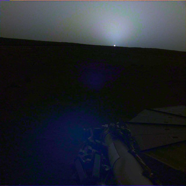 Схід і захід Сонця на Марсі - фото 325371