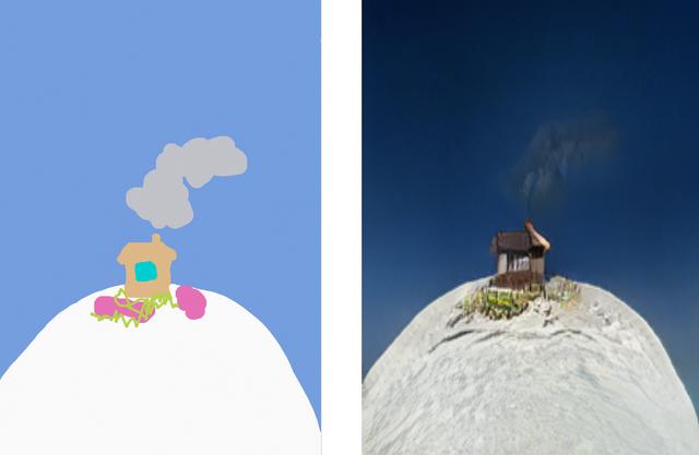 З'явилася програма, яка перетворює дитячі малюнки в реалістичні пейзажі - фото 325395