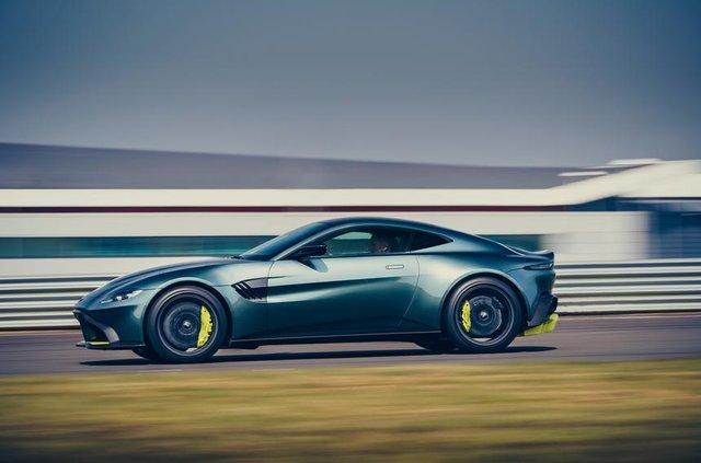 Aston Martin випустив особливу версію популярного купе Vantage - фото 325448