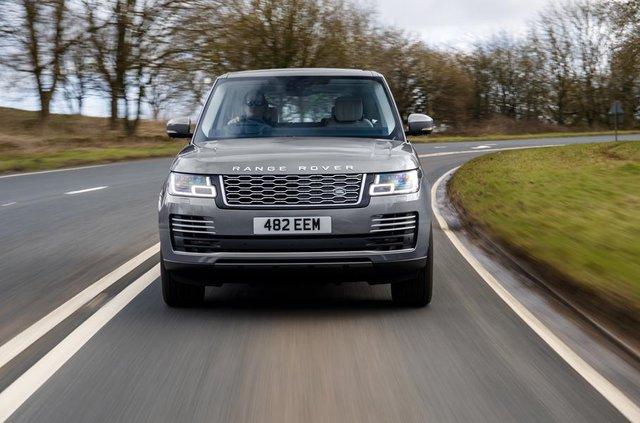 Позашляховий Range Rover перетворили на 'м'який' гібрид - фото 325668