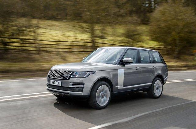 Позашляховий Range Rover перетворили на 'м'який' гібрид - фото 325675