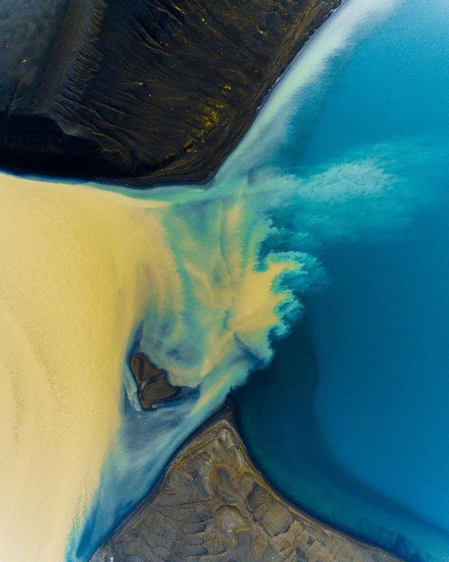 Незабутня краса Ісландії з висоти: яскраві фото мандрівника - фото 325826