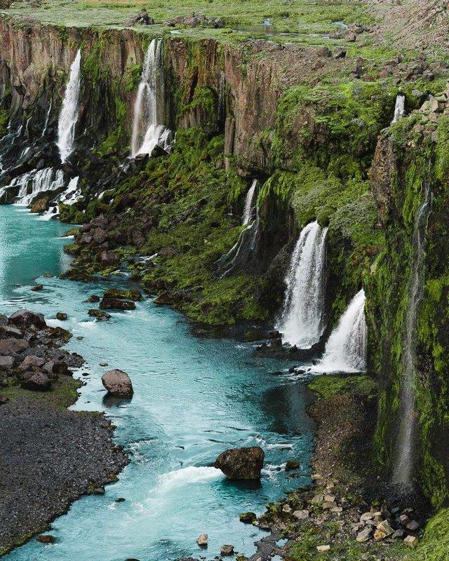 Незабутня краса Ісландії з висоти: яскраві фото мандрівника - фото 325827