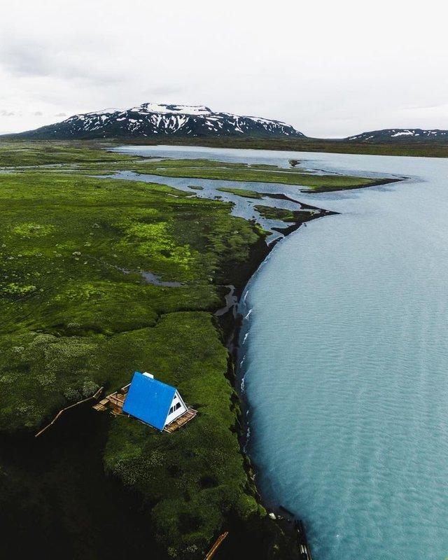 Незабутня краса Ісландії з висоти: яскраві фото мандрівника - фото 325831