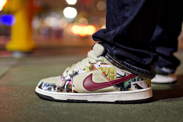 Nike Dunk SB Low Paris (2002) - фото 325987