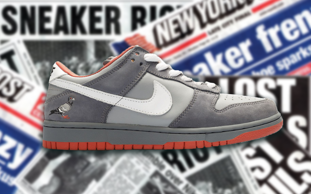 Nike Dunk SB Low Staple NYC Pigeon (2005)  - фото 325990