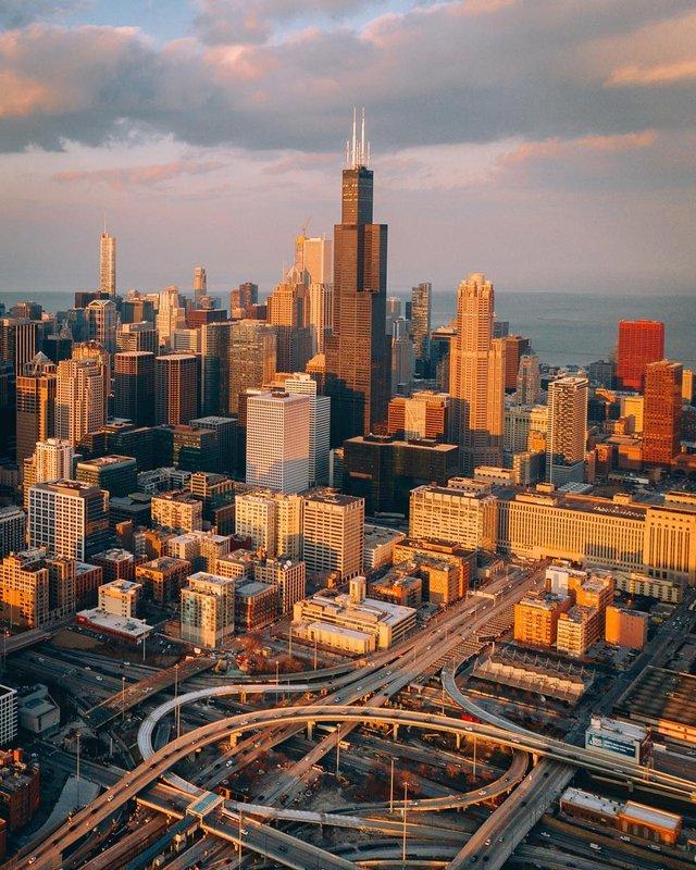 Чикаго з особливих ракурсів: фото, які варто побачити - фото 326161