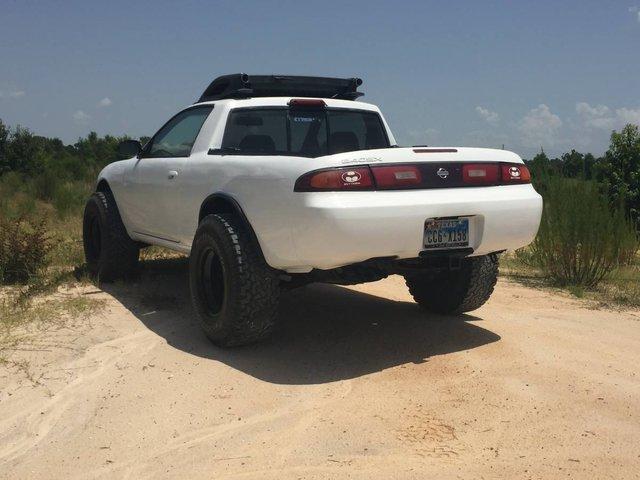 Зі спорткара Nissan Silvia зробили пікап: фотофакт - фото 326360