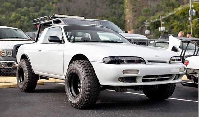 Зі спорткара Nissan Silvia зробили пікап: фотофакт - фото 326361