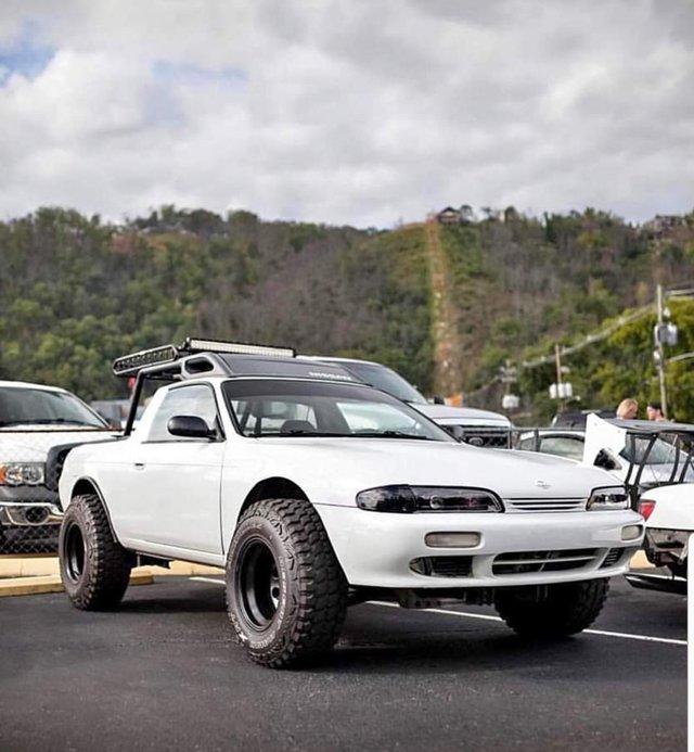 Зі спорткара Nissan Silvia зробили пікап: фотофакт - фото 326362