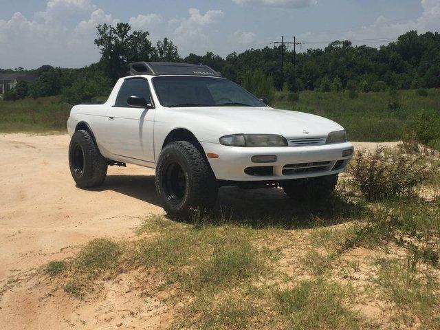 Зі спорткара Nissan Silvia зробили пікап: фотофакт - фото 326363