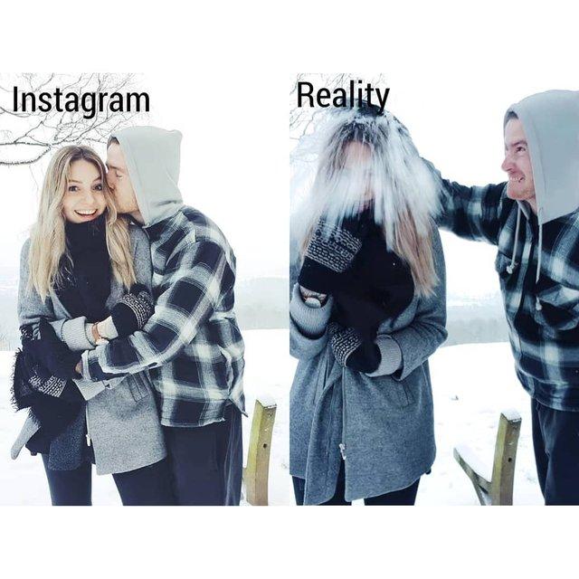 Правда не красива: дівчина потролила типові фото Instagram - фото 326477