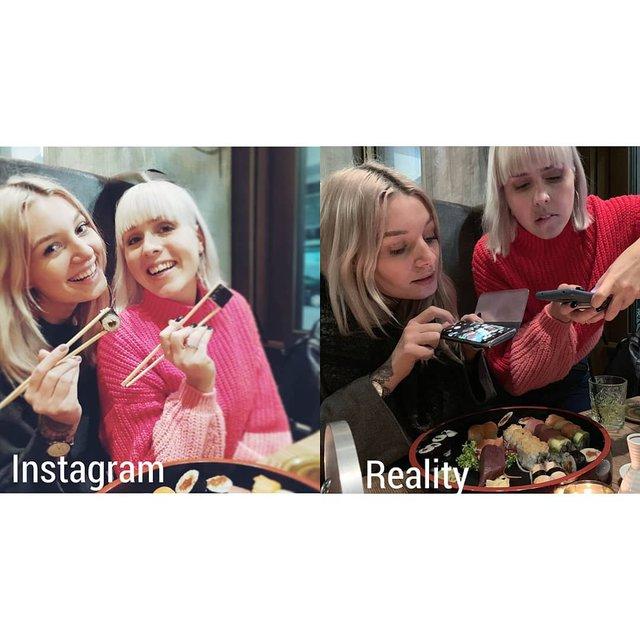 Правда не красива: дівчина потролила типові фото Instagram - фото 326479