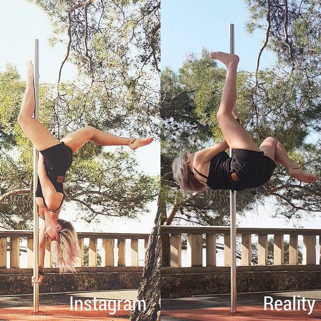 Правда не красива: дівчина потролила типові фото Instagram - фото 326481