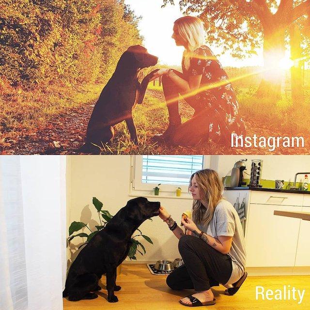 Правда не красива: дівчина потролила типові фото Instagram - фото 326491