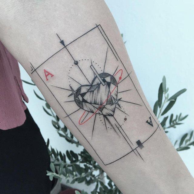 Геометричні тату від турецького майстра, які приковують погляд - фото 326647