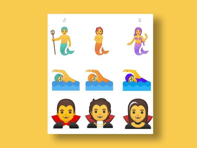 Google додасть 53 гендерно-нейтральних емодзі - фото 326777