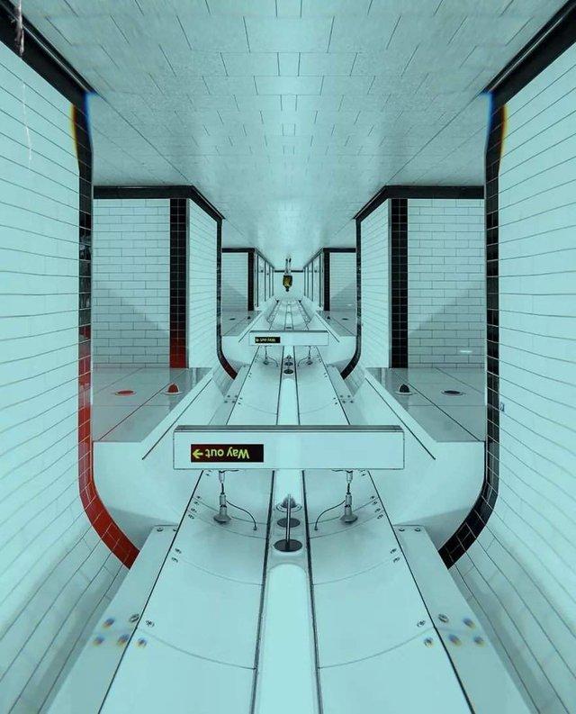 Незвичайний фотопроект: перевернуті станції метро - фото 326978