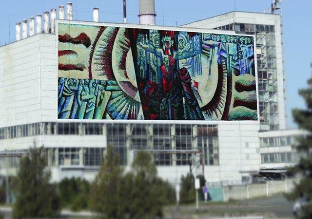 У Чорнобилі намалюють яскравий мурал: ескізи - фото 327598