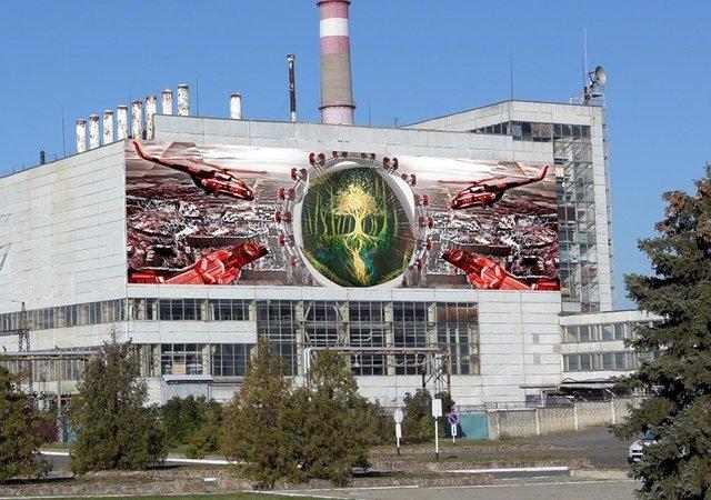 У Чорнобилі намалюють яскравий мурал: ескізи - фото 327599