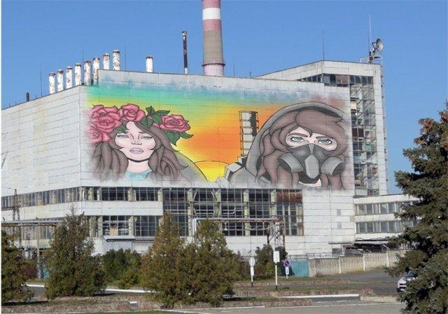У Чорнобилі намалюють яскравий мурал: ескізи - фото 327603