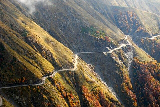 Дорога в Тушеті  - фото 327957