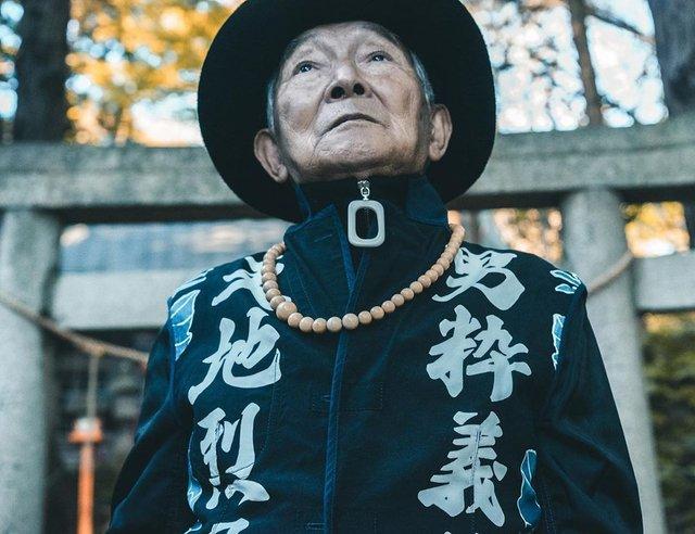 84-річний японець підкорив мережу своїм стилем (фото) - фото 328166