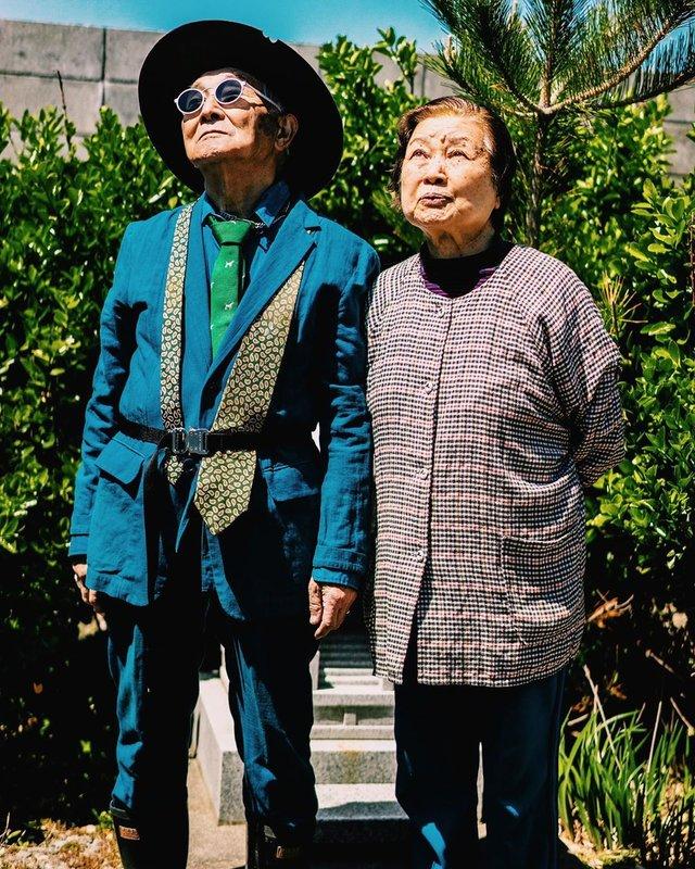 84-річний японець підкорив мережу своїм стилем (фото) - фото 328168