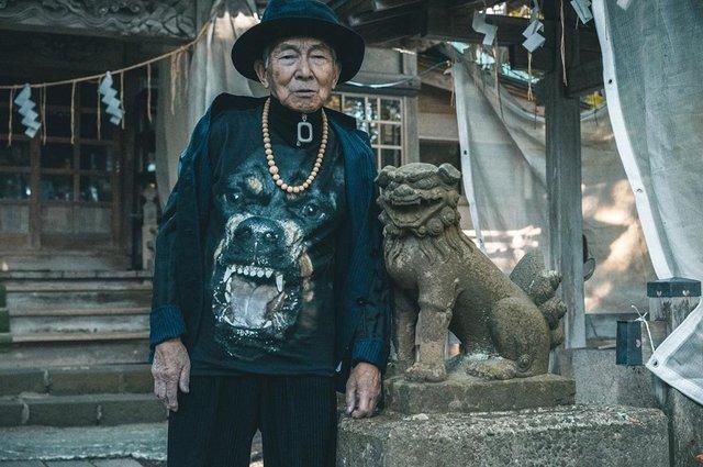 84-річний японець підкорив мережу своїм стилем (фото) - фото 328169