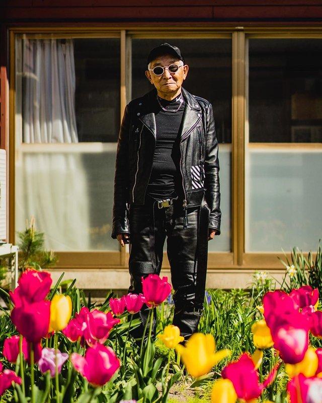 84-річний японець підкорив мережу своїм стилем (фото) - фото 328171