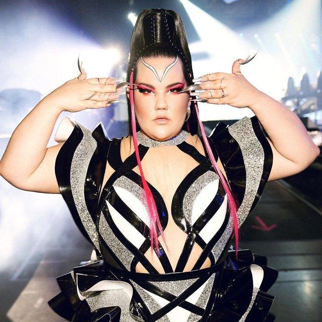 Нетта Барзілай приголомшила усіх своїм образом на Євробаченні - фото 328529