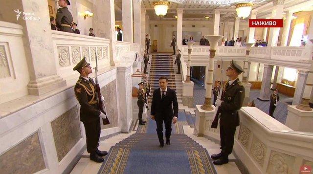 Володимир Зеленський склав присягу та офіційно став президентом України - фото 328728