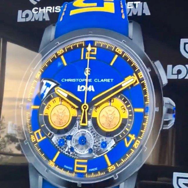 Відомий бренд годинників створив унікальну модель для Ломаченка - фото 328999