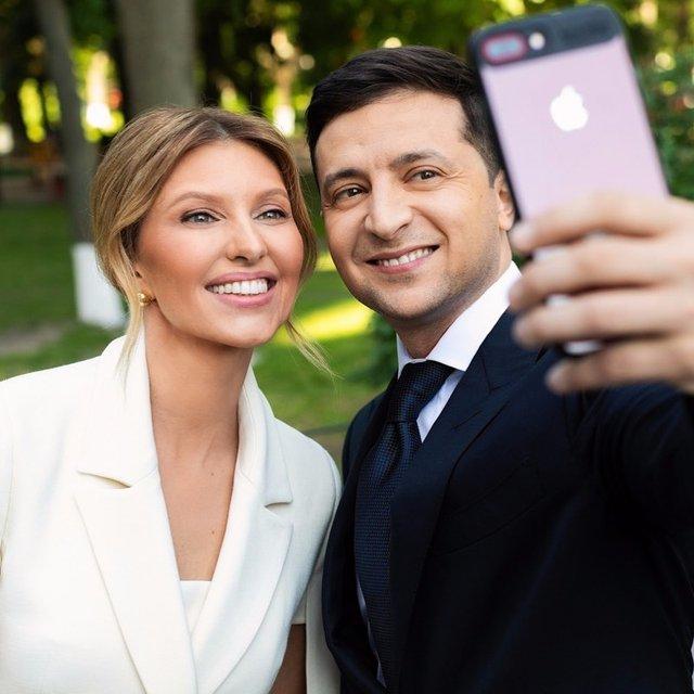 Олена і Володимир Зеленські - фото 329035