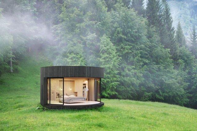 Виглядає круто: у Франції туристам пропонують заночувати у наметі-кабіні - фото 329176