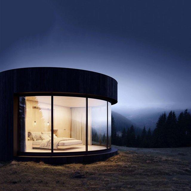 Виглядає круто: у Франції туристам пропонують заночувати у наметі-кабіні - фото 329177