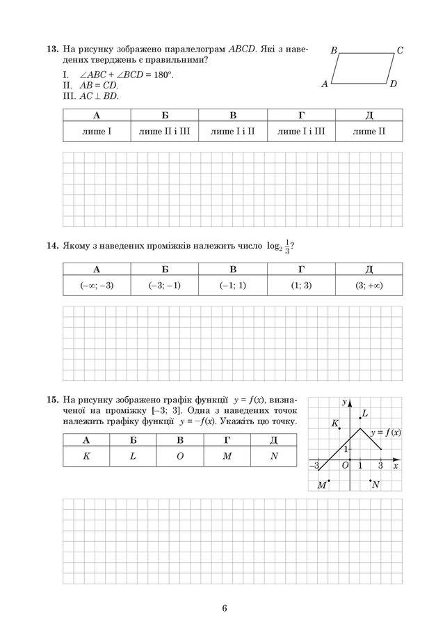 ЗНО 2019 з математики: оприлюднені завдання та задачі з тесту - фото 329205