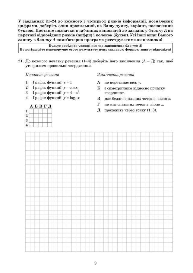 ЗНО 2019 з математики: оприлюднені завдання та задачі з тесту - фото 329217