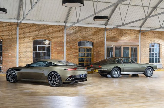 Ексклюзивне авто Джеймса Бонда: Aston Martin показав DBS Superleggera - фото 329472