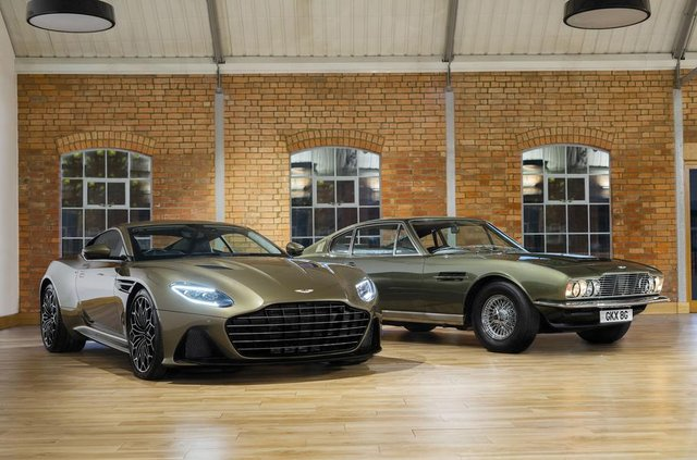 Ексклюзивне авто Джеймса Бонда: Aston Martin показав DBS Superleggera - фото 329475