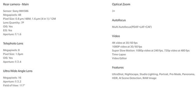 Користувачів обдурили: технічні характеристики OnePlus 7 Pro не відповідають дійсності - фото 329512