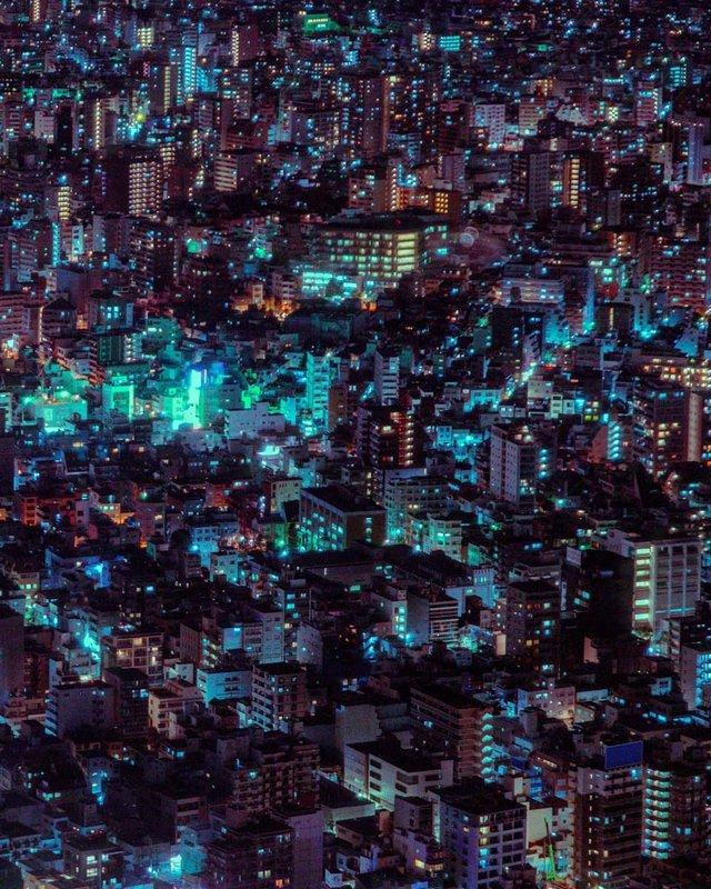 Токіо на долоні: захопливі фото з найвищих будівель міста - фото 329786
