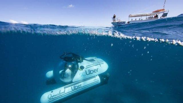 Uber запропронує проїхатися на підводному 'таксі' - фото 329822