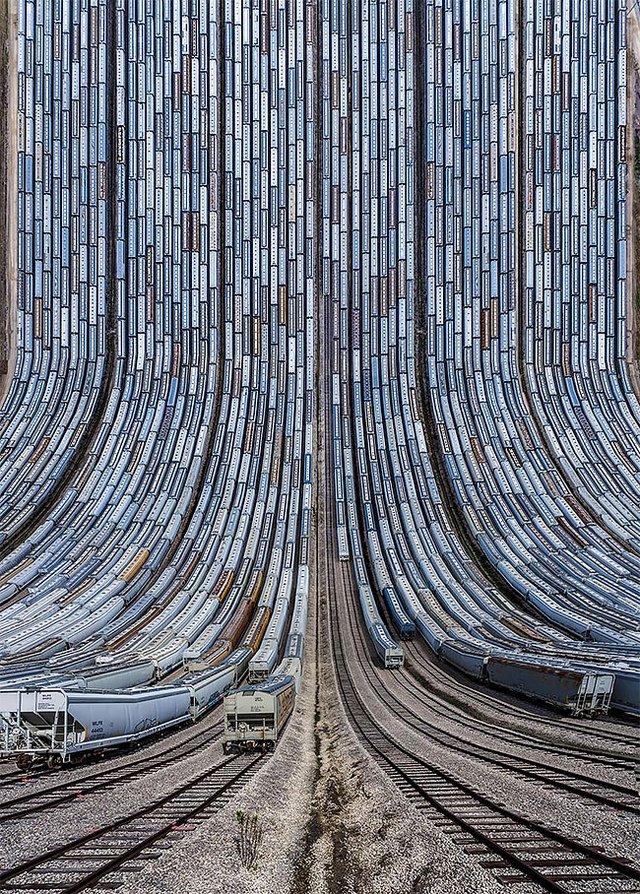 Панорамні знімки з дрона в незвичайному форматі - фото 329986