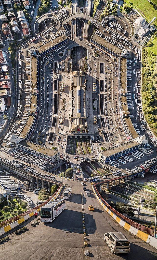 Панорамні знімки з дрона в незвичайному форматі - фото 329987