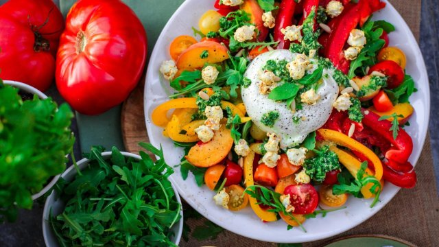 Смачний салат на вечерю   - фото 329990
